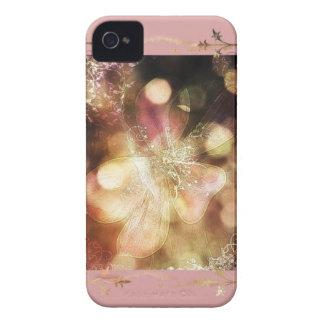 ピンクの幽霊ユリ Case-Mate iPhone 4 ケース