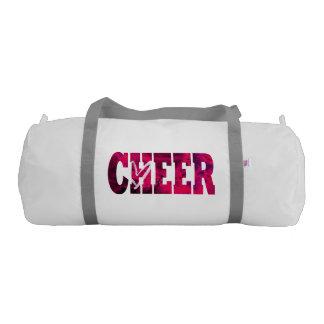 ピンクの応援のDuffleバッグ ジムダッフルバッグ