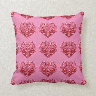 ピンクの感情的な恋人の枕 クッション
