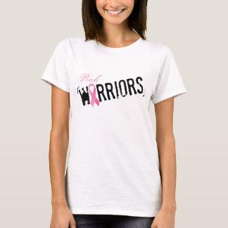 ピンクの戦士、ドイツ体が付いている株式会社のロゴのワイシャツ Tシャツ