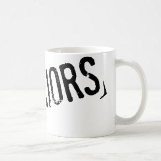 ピンクの戦士、株式会社のロゴのマグ コーヒーマグカップ