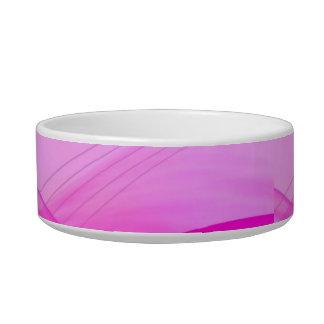 ピンクの抽象的なペットボウル ボウル