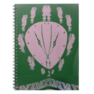 ピンクの旗 ノートブック