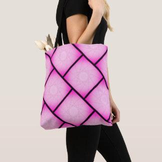 ピンクの星パターントートバック トートバッグ