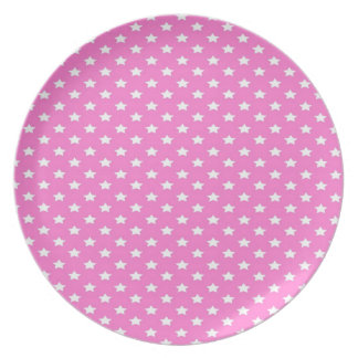 ピンクの星 プレート