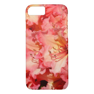 ピンクの春のシャクナゲのプリントのiphoneの場合 iPhone 8/7ケース