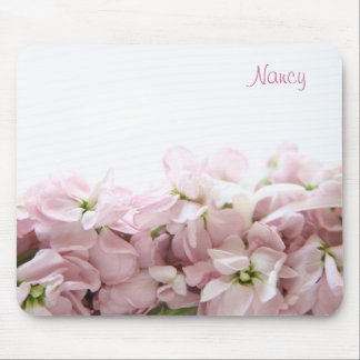 ピンクの春の花のmousepad マウスパッド
