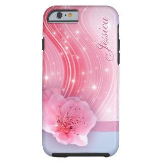 ピンクの春の花 ケース