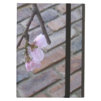 ピンクの春の花 iPad AIRケース