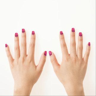 ピンクの曖昧 ネイルアート