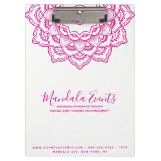 ピンクの曼荼羅 クリップボード
