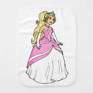 ピンクの服のアートワークの写真の美しいプリンセス バープクロス