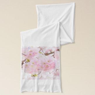 ピンクの木の桜の桜 スカーフ