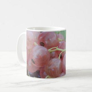 ピンクの果実 コーヒーマグカップ
