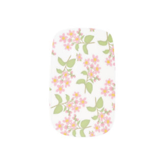 ピンクの桜の桜のMinxのネイルシール ネイルシール