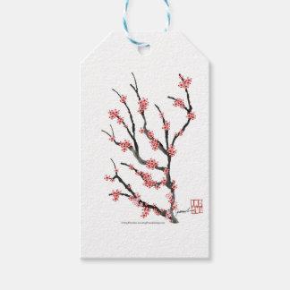ピンクの桜25、トニーFernandes ギフトタグ