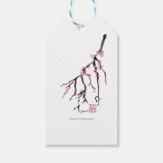 ピンクの桜28、トニーFernandes ギフトタグ