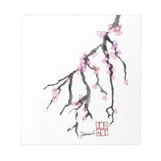 ピンクの桜28、トニーFernandes ノートパッド