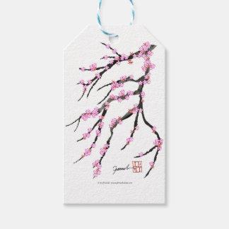 ピンクの桜31、トニーFernandes ギフトタグ