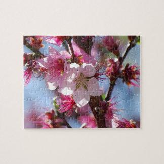 ピンクの桜 ジグソーパズル