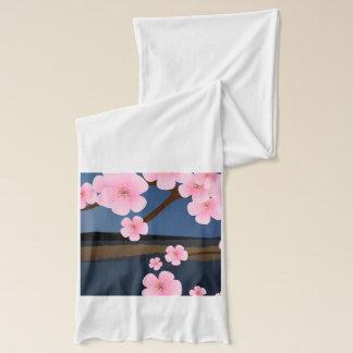 ピンクの桜 スカーフ