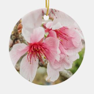 ピンクの桜- セラミックオーナメント