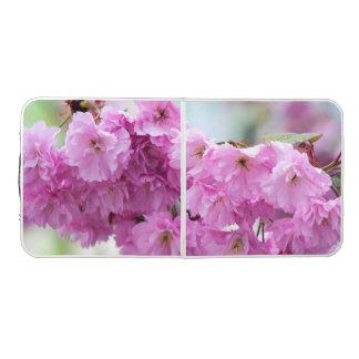 ピンクの桜 ビアポンテーブル