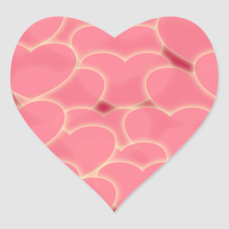 ピンクの欲求 ハートシール