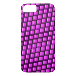 ピンクの正方形のやっとそこにiPhone 7の場合 iPhone 7ケース