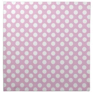 ピンクの正気でない布の夕食ナプキン ナプキンクロス