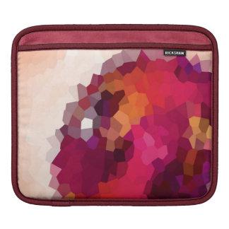 ピンクの水晶 iPadスリーブ