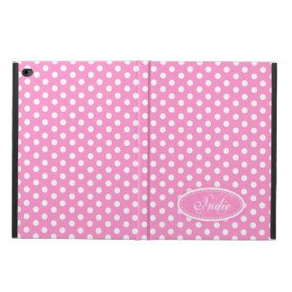 ピンクの水玉模様によっては一流のipadのpowisの箱が開花します powis iPad air 2 ケース