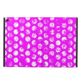 ピンクの水玉模様の正方形 POWIS iPad AIR 2 ケース
