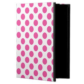 ピンクの水玉模様 POWIS iPad AIR 2 ケース