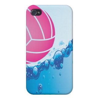 ピンクの水球の球のiphone 4ケース iPhone 4 cover