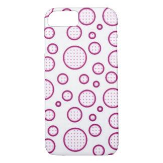 ピンクの泡 iPhone 8/7ケース