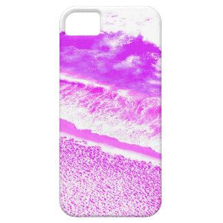 ピンクの波 iPhone SE/5/5s ケース