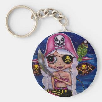 ピンクの海賊妖精 キーホルダー