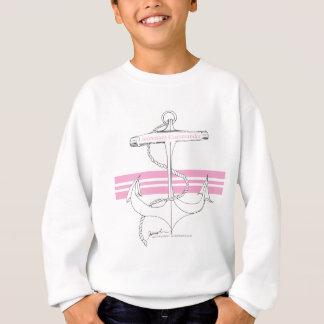 ピンクの海軍少佐、贅沢なfernandes スウェットシャツ