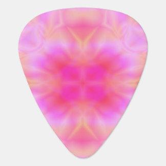 ピンクの火炎信号 ギターピック