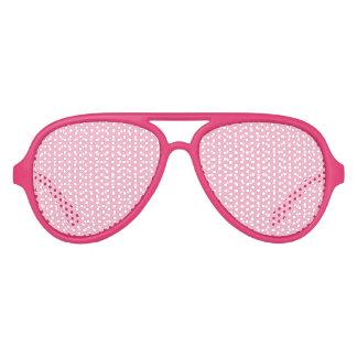 ピンクの点 アビエーターサングラス