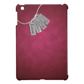 ピンクの煙で歌い、住み、踊り、そして愛して下さい iPad MINI カバー