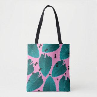 ピンクの熱帯地方 トートバッグ