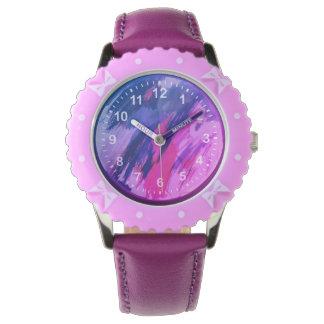 ピンクの生命 腕時計