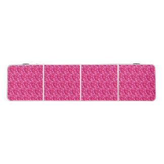 ピンクの白いグリッターのモダンな折りたたみのパーティーのテーブル ビアポンテーブル