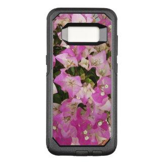 ピンクの白いブーゲンビリアの花 オッターボックスコミューターSamsung GALAXY S8 ケース