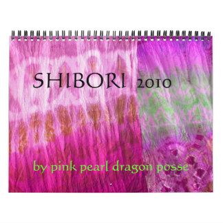 ピンクの真珠のドラゴンの武装隊によるSHIBORI 2010年、 カレンダー