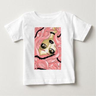 ピンクの真珠 ベビーTシャツ