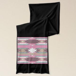 ピンクの種族パターン スカーフ