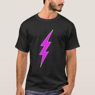 ピンクの稲妻 Tシャツ